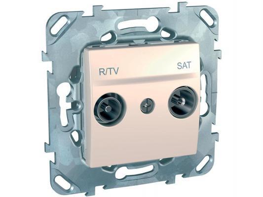 Розетка R/TV/SAT Schneider Electric оконечная бежевый MGU5.455.25ZD
