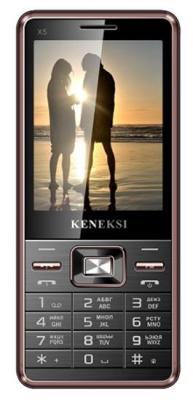 """Мобильный телефон KENEKSI X5 золотистый черный 2.8"""""""