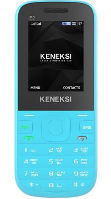 """Мобильный телефон KENEKSI E2 синий 1.77"""""""