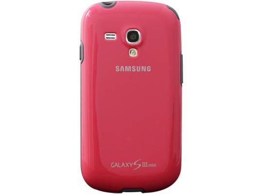 Чехол Samsung EFC-1M7BPEGSTD для Samsung Galaxy S3 mini розовый ikki 3300mah external battery power charger for samsung s3 mini i8190 xcover 2 golden