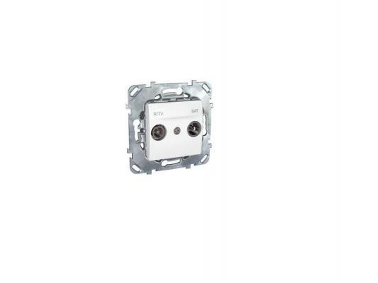 Розетка R/TV/SAT Schneider Electric белый MGU5.454.18ZD