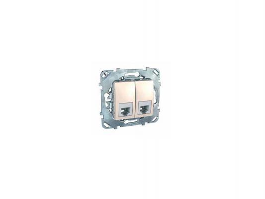 Телефонная  розетка Schneider Electric 1ХRJ11 алюминий MGU5.9090.25ZD