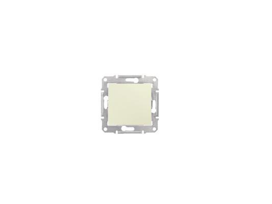Выключатель Schneider Electric 1-клавишный бежевый SDN0100147 выключатель 3 клавишный schneider electric glossa титан