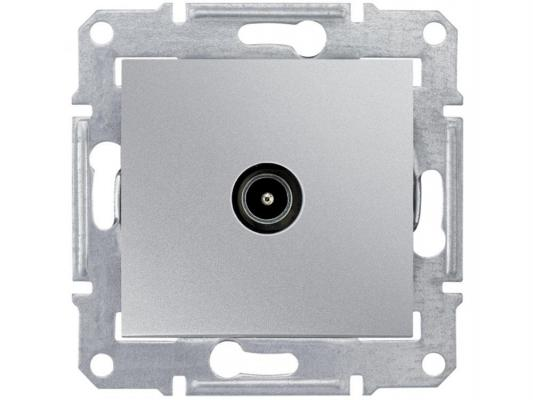 Розетка TV Schneider Electric оконечная алюминий SDN3201660