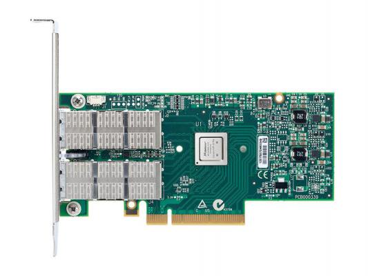 Сетевой адаптер Mellanox ConnectX-3 Pro EN network interface card 10GbE dual port SFP+ PCIe3.0 x8 8GT/s tall bracket RoHS R6 MCX312B-XCCT