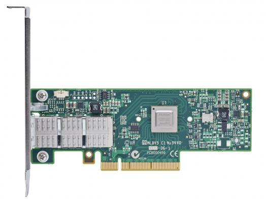 Сетевой адаптер Mellanox ConnectX-3 Pro EN network interface card 40/56GbE single-port QSFP PCIe3.0 x8 8GT/s tall bracket RoHS R6 MCX313A-BCCT