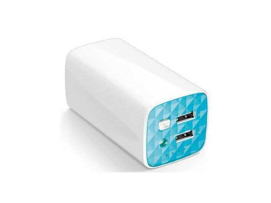 Фото - Портативное зарядное устройство TP-LINK TL-PB10400 10400мАч 2xUSB белый зарядное