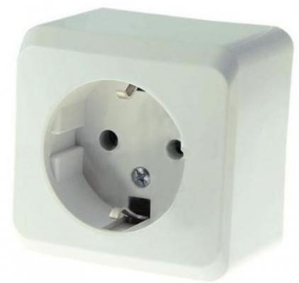Розетка электрическая Schneider Electric белый PA16-003B