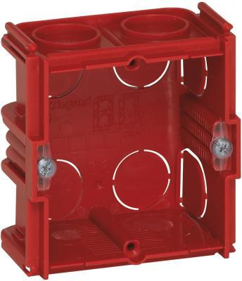 Электромонтажная коробка Legrand Batibox для кирпичных стен 1 пост глубина 40мм 80141 электромонтажная коробка legrand plexo 1 пост серый 69651