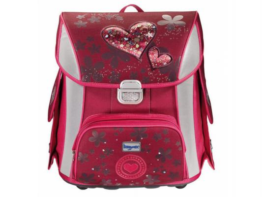 Ранец ортопедический Step by Step BaggyMax Simy Lovely Hearts 20 л розовый рисунок 129297