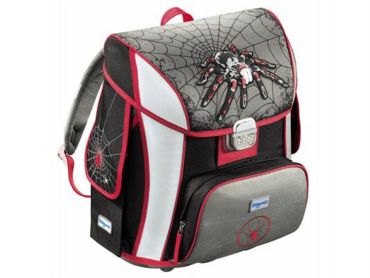 Ранец ортопедический Step by Step BaggyMax Simy Spider 20 л серый рисунок 129295