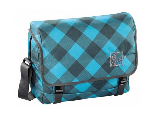 Сумка Hama All Out Barnsley Blue Dream Check 11 л черный голубой 00129221 сумка all out 908767 barnsley blue dream check