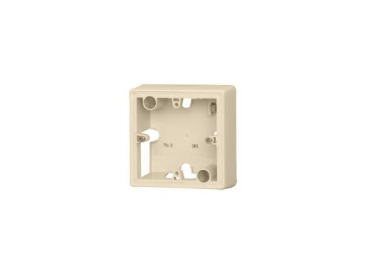 Коробка накладная Legrand Valena 1 пост слоновая кость 776131 монтажная коробка legrand plexo 1 пост белый 69689