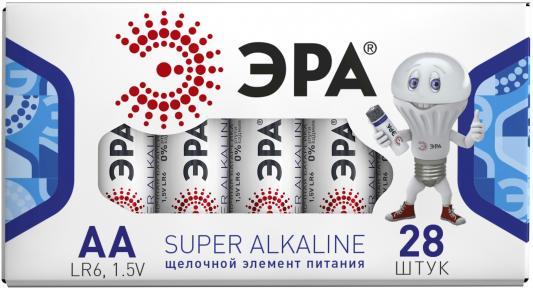 Батарейки Эра LR6-28 AA 28 шт батарейки varta energy lr6 aa 4 шт 4106213414