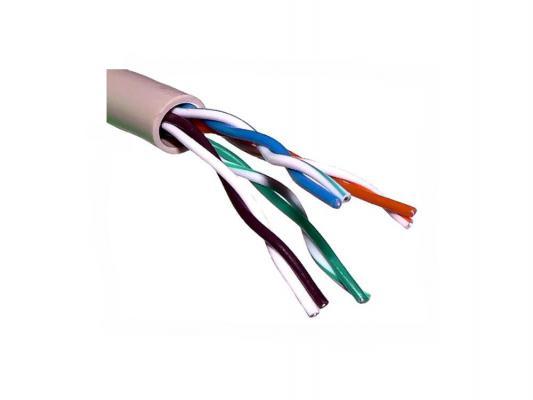 Фото - Кабель Proconnect UTP кат 5e 4 пары 24AWG 305м неэкранированный 01-0052 кабель utp 2pr 24awg cat5e 305м