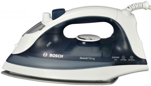 утюг bosch tda 2630 2100 вт подача пара 25 г мин пар удар 80 г мин фиолетовый Утюг Bosch TDA 2365 2200 Вт подача пара 22 г/мин пар.удар 80 г/мин серый/белый