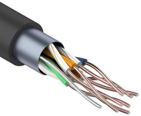 цена на Кабель Proconnect FTP кат 5e 4 пары 24AWG CCA 305м экранированный для внешней прокладки 01-0146-3