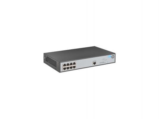 Коммутатор HP 1620-8G управляемый 8 портов 10/100/1000Mbps RJ-45 JG912A