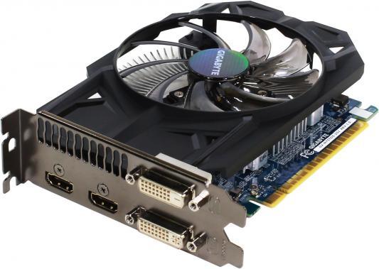 Видеокарта 2048Mb Gigabyte GeForce GTX750Ti PCI-E GDDR5 128bit DVI HDMI HDCP GV-N75TD5-2GI Retail