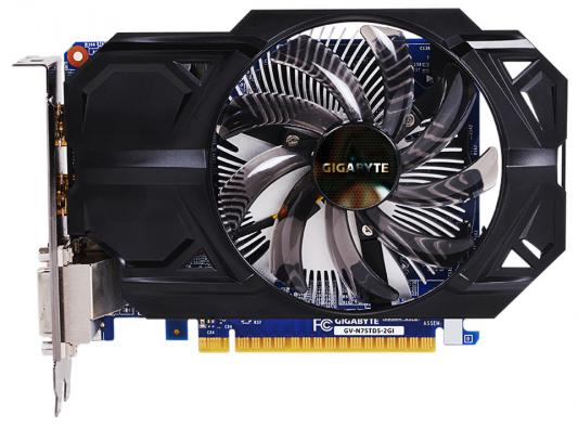 Видеокарта 2048Mb Gigabyte GeForce GTX750Ti PCI-E GDDR5 128bit DVI HDMI HDCP GV-N75TD5-2GI Retail maxsun ms gtx750 geforce gtx 750 2g gddr5 graphics card with hdmi vga dvi interface