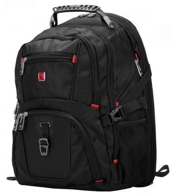 """Рюкзак для ноутбука 16"""" Continent BP-301 BK черный"""