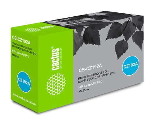 Картридж Cactus CS-CZ192A для HP LaserJet Pro M435nw черный 12000стр картридж t2 для hp tc h85a laserjet p1102 1102w pro m1132 m1212nf m1214nfh canon i sensys lbp6000 cartrige 725 1600 стр с чипом