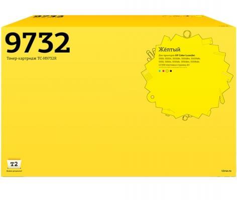 Картридж T2 C9732A для HP Color LaserJet 5500 5550 желтый 12000стр TC-H9732R картридж t2 tc c729m для canon i sensys lbp7010c 7018c hp laserjet pro cp1025 1025nw pro 100 mfp пурпурный