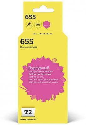 Картридж T2 CZ111AE для HP DeskJet IA 3525 4615 5525 6525 пурпурный 600стр IC-H111