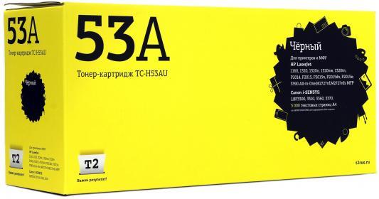 Картридж T2 Q7553A для HP LJ P2014 P2015 M2727nf MFP 3000стр Черный