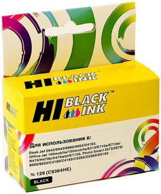 Картридж Hi-Black C9364HE №129 для HP DeskJet 5943 6943 D4163 черный hi black hp q2612a black