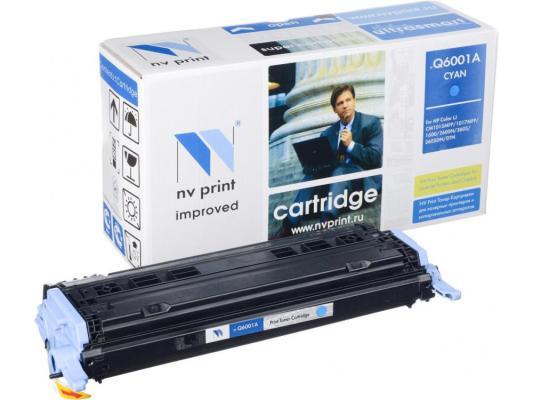 Картридж NV-Print Q6001A для HP Color LaserJet 1600 2600N M1015 M1017 голубой