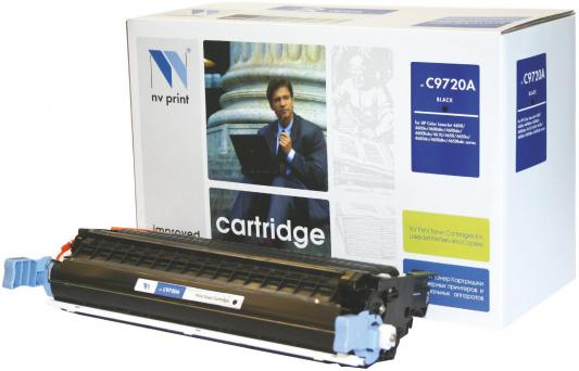 Картридж NV-Print C9720A для HP Color LJ 4600 4650 черный картридж nv print c9722a для hp color lj 4600 4650 желтый 8000стр