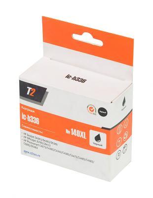 Картридж T2 CB336HE №140XL для HP Deskjet D4263 D5360 Officejet J5783 J6413 Photosmart C4273 черный 1000стр Ic-h336 cb xl 029 светильник конус настенный перламутр металл