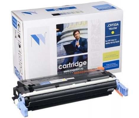 Картридж NV-Print C9722A для HP Color LJ 4600 4650 желтый 8000стр картридж nv print c9722a для hp color lj 4600 4650 желтый 8000стр