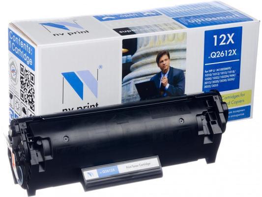 Картридж NV-Print Q2612X для HP LJ 1010 1012 1015 1020 1022 3015 3020 3030 черный 3500стр картридж для принтера nv print для hp cf403x magenta