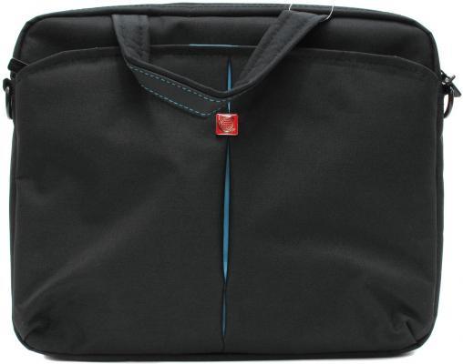 """лучшая цена Сумка для ноутбука 10"""" Continent CC-010 Black нейлон черный"""