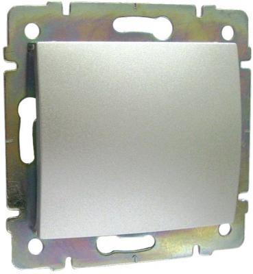 Заглушка Legrand Valena алюминий 770146 заглушка legrand 13 модулей белый 01662