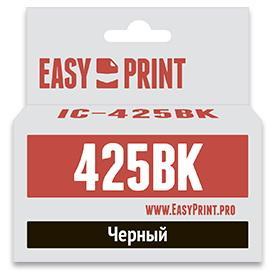 Картридж EasyPrint IC-PGI425BK для Canon PIXMA iP4840 MG5140 MG6140 MX884 черный 1set pgi 425 cli 426 ink cartridge for canon pgi 425 cli426 pixma mg5240 mg5140 mg5340 ip4840 mx884 ix6540 ip4940 mg5340 mx714