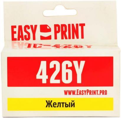 Картридж EasyPrint IC-CLI426Y для Canon PIXMA iP4840 MG5140 MG6140 MX884 желтый цена 2017