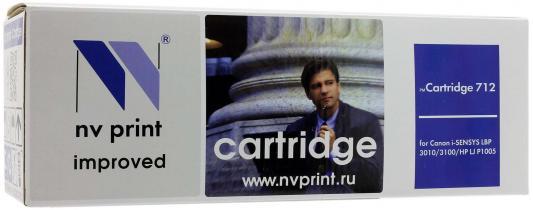 Картридж NVPrint  Cartridge 712 для CANON LBP-3010 3100 1500 стр lcl crg712 crg 712 crg 712 5 pack black 1500 pages laser toner cartridge compatible for canon lbp3018 3010 3100 3150