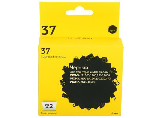 Картридж T2 IC-CPG37 для Canon PIXMA iP1800 1900 2500 2600 MP140 190 210 220 470 MX300 310 черный