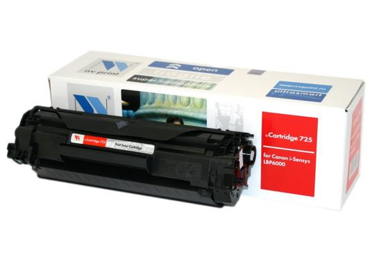 Картридж NVPrint Cartridge 725 для Canon 725 LBP6000 1600 стр картридж t2 для hp tc h85a laserjet p1102 1102w pro m1132 m1212nf m1214nfh canon i sensys lbp6000 cartrige 725 1600 стр с чипом