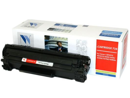 Картридж NVPrint Cartridge 728 для Canon 728 и для i-SENSYS MF4410 MF4430 MF4450 MF4550d MF4570dn MF4580d картридж t2 для hp tc h85a laserjet p1102 1102w pro m1132 m1212nf m1214nfh canon i sensys lbp6000 cartrige 725 1600 стр с чипом