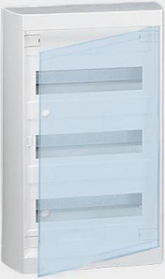 Щиток навесной Legrand Nedbox 2х12 модулей прозрачная дверь 601247