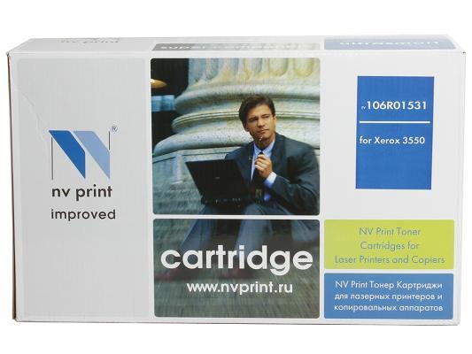 Картридж NV-Print 106R01531 для Xerox WorkCentere 3550 черный 11000стр картридж для принтера nv print для xerox 108r00909