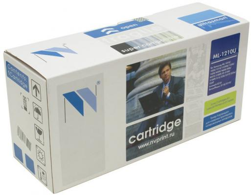 Картридж NV-Print ML-1210U для Samsung ML-1210/1220/1250/1430 Lexmark E210 Xerox Phaser3110/3210 черный 2500стр картридж nv print для samsung sl m2620 2820 2870 3000k nv mltd115l