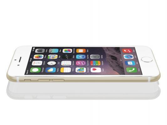 Чехол Power Support для iPhone 6 прозрачный матовый PYC-80AJ