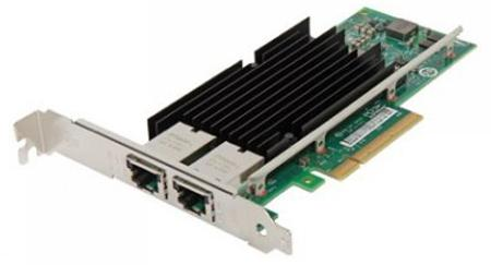 Контроллер Lenovo X540-T2 2 ports 10Gbps 2xRJ-45 Converged Ethernet Server Adapter by Intel PCIe x8 v2.1 incl FH and LP bracket 4XC0F28732