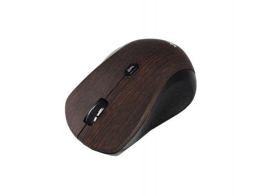 Мышь беспроводная Crown CMM-929W коричневый USB