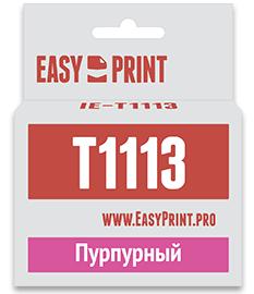 Картридж EasyPrint C13T0813 для Epson Stylus Photo R390/RX690 пурпурный IE-T1113